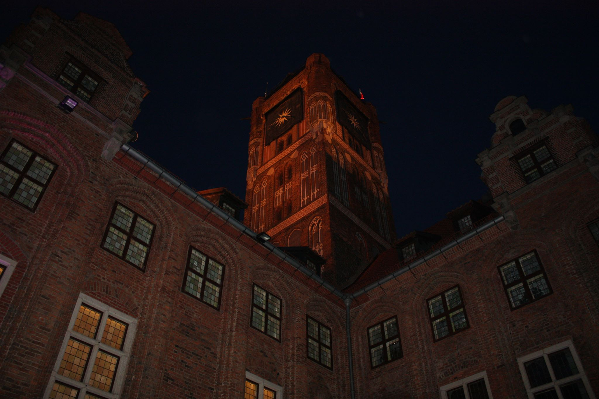Wieża nocą, fot. h.smolarek