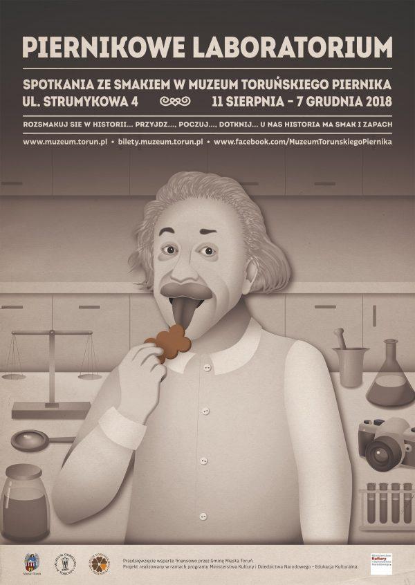 plakat Piernikowe Laboratorium