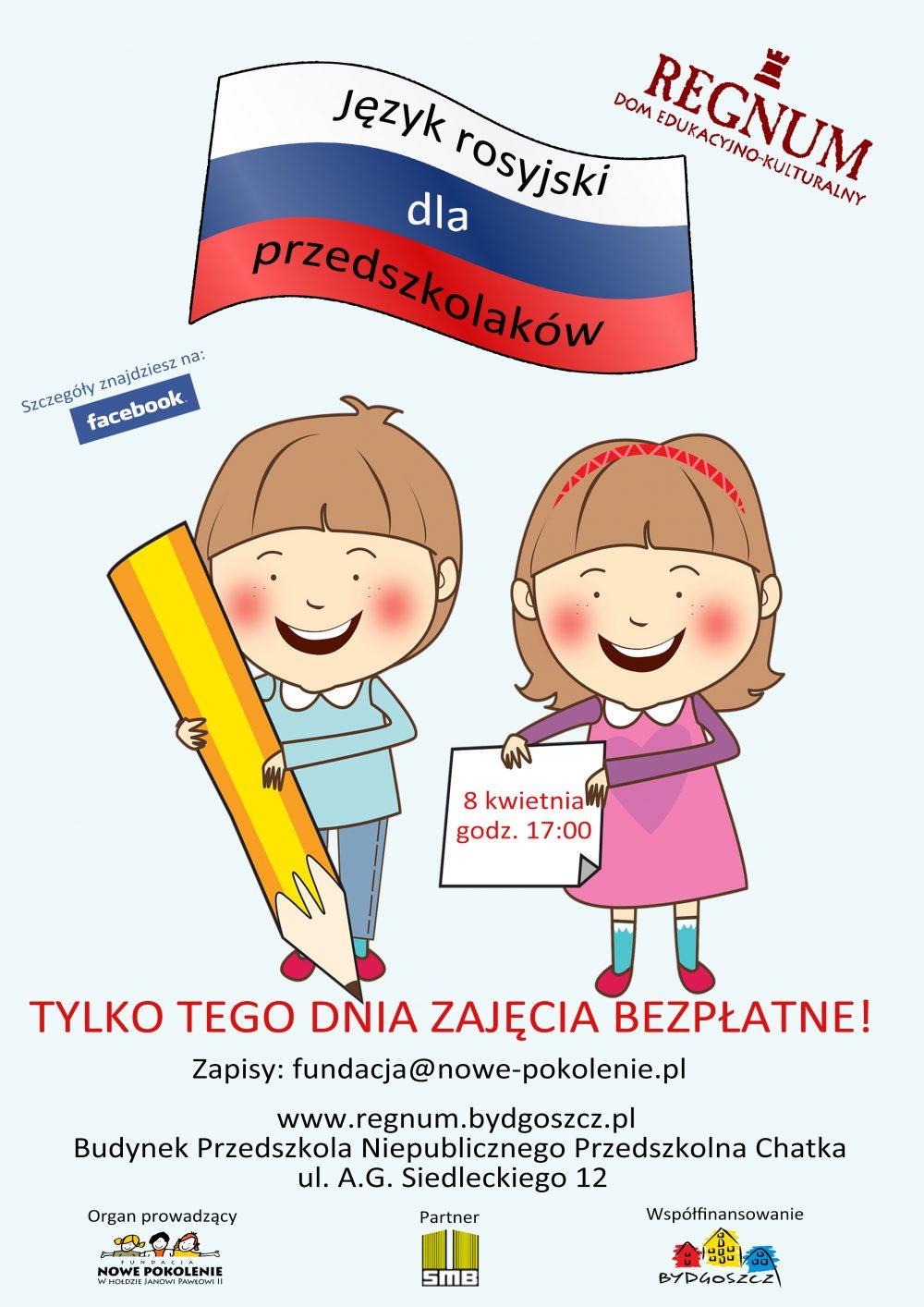 Język rosyjski dla przedszkolaków