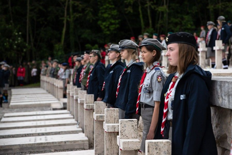 Kujawsko-pomorscy harcerze na Monte Cassino