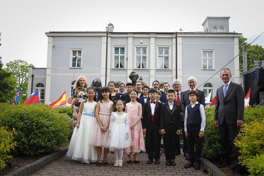Laureaci konkursu pianistycznego w Szafarni