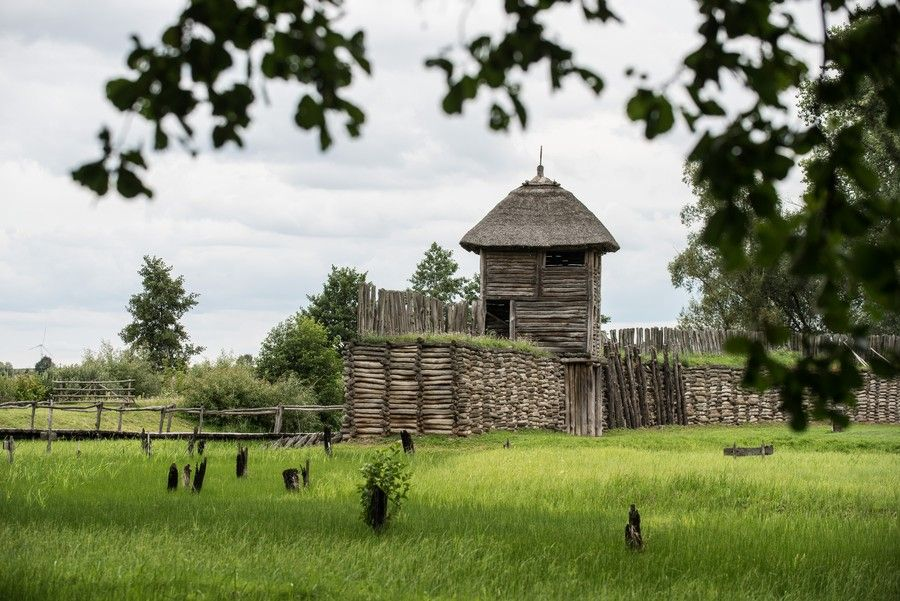 Rezerwat archeologiczny w Biskupinie, fot. Tymon Markowski