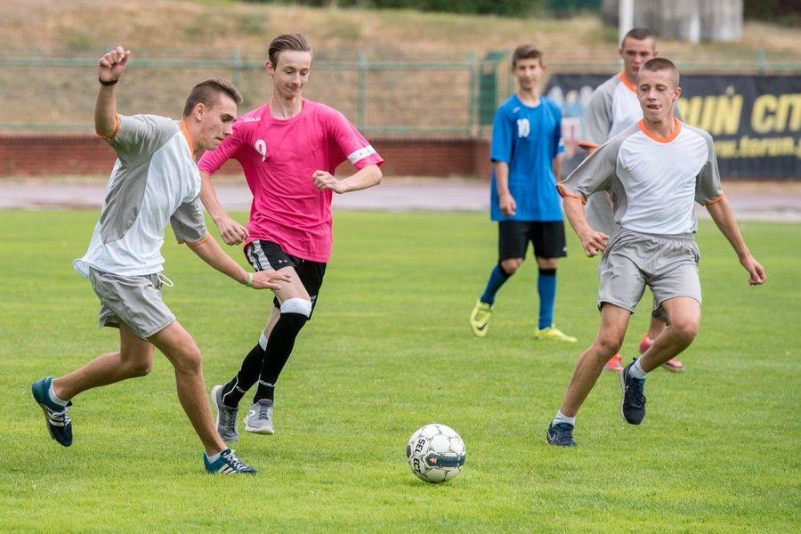 Ubiegłoroczny turniej piłkarski Trampolina Cup na Stadionie Miejskim w Toruniu, fot. Łukasz Piecyk