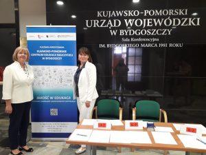 Organizatorzy konferencji I. Nowakowska i M. Chylebrant-Karolak