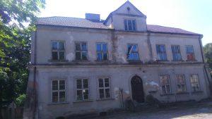 Budynek dawnego Seminarium Nauczycielskiegow Skępem