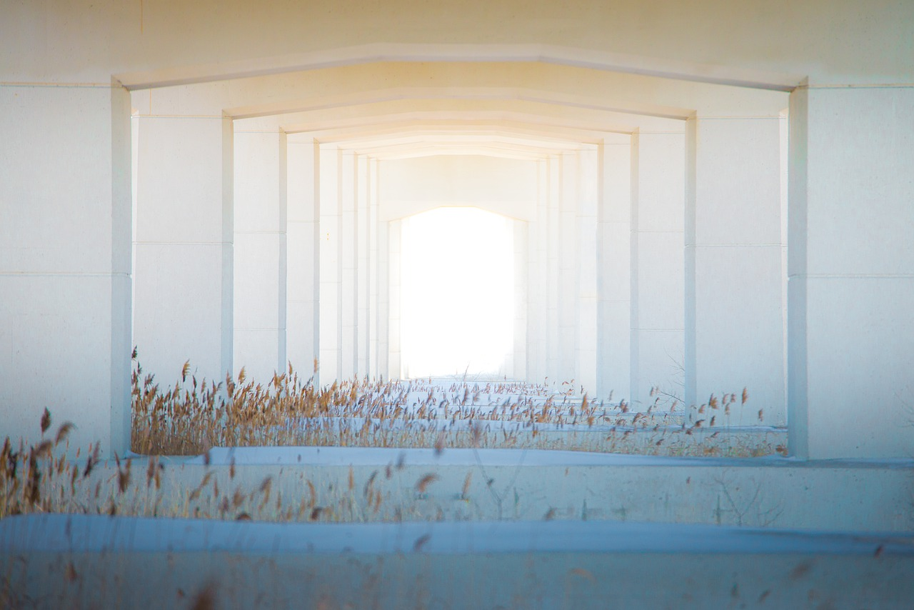 Tunel, architektura