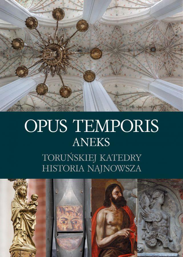 """Okładka książki """"Opus temporis"""""""