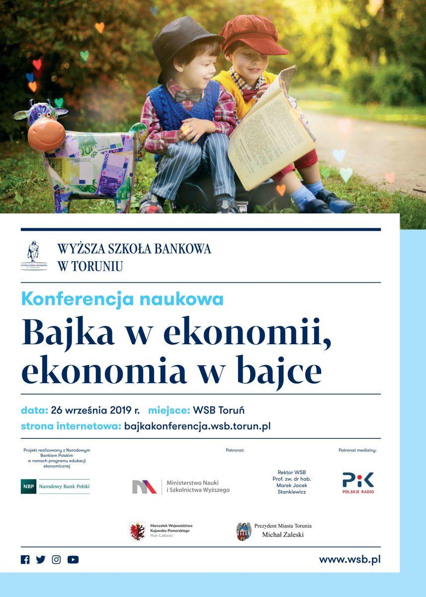 Plakat Bajka w ekonomii