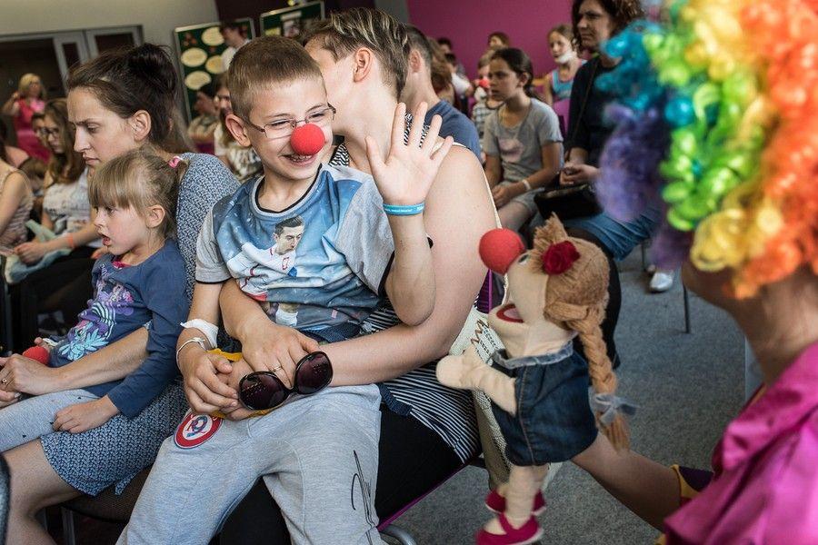 Zajęcia dla dzieci w Wojewódzkim Szpitalu Dziecięcym w Bydgoszczy, fot. Tymon Markowski