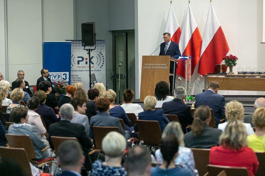 Uroczystość jubileuszowa KPCEN-u w Bydgoszczy, fot. Filip Kowalkowski