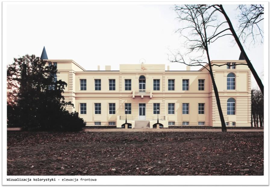 Kompleks pałacowy w Wieńcu
