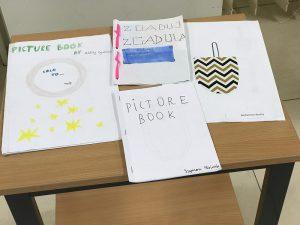 Picture booki wykonane przez uczniów