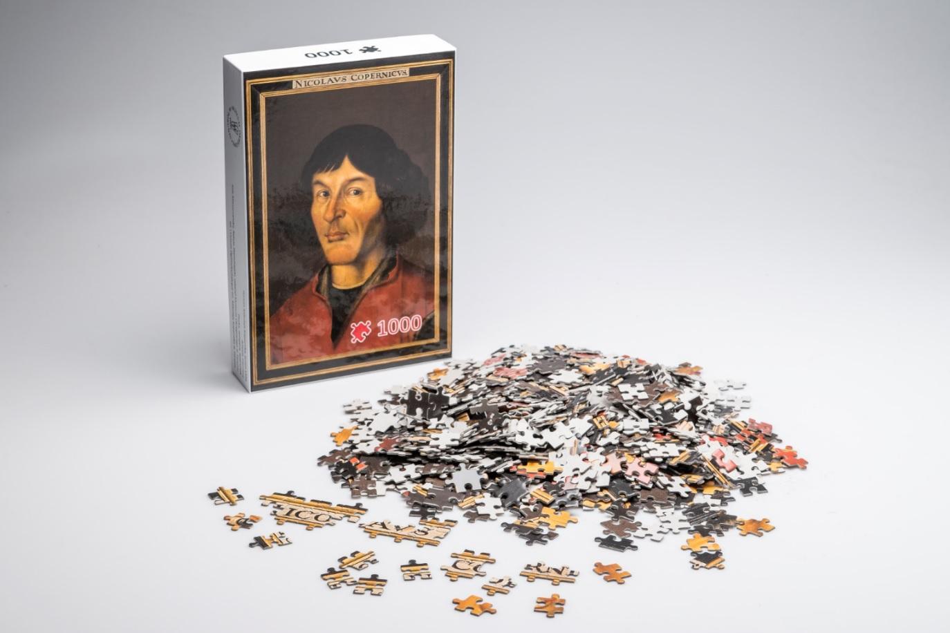 Puzzle z Mikołajem Kopernikiem