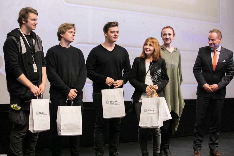 """Wręczenie nagród w konkursie """"Sztuka wyboru"""", fot. Andrzej Goiński"""