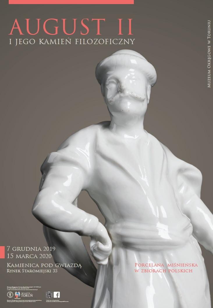 August II i jego kamień filozoficzny - plakat