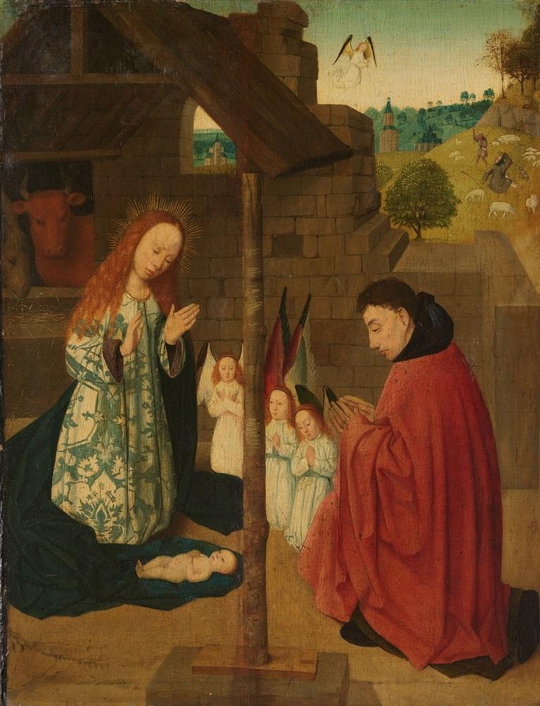 Mistrz Dyptyku Brunszwickiego, Boże Narodzenie, ok. 1490 – 1500, olej na desce, wł. Rijksmuseum, Amsterdam