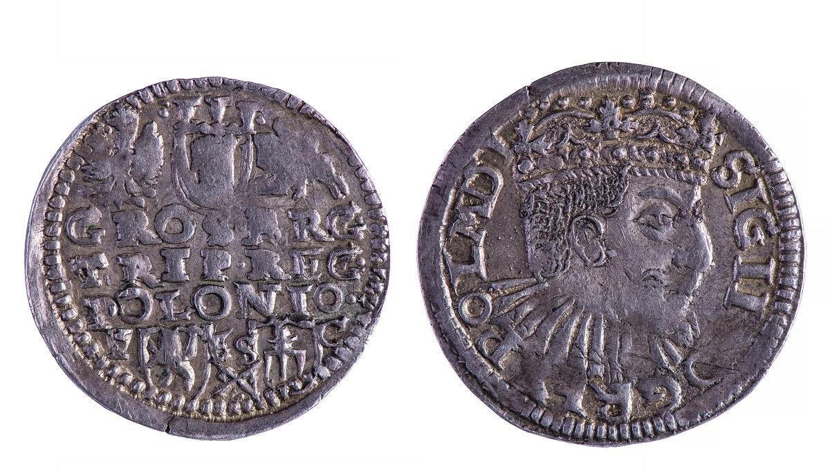 trojak koronny Zygmunta III Wazy, fot. W. Woźniak