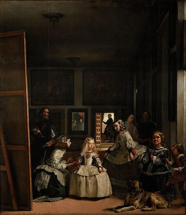 Las Meninas, by Diego Velázquez, from Prado