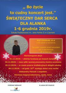 Plakat akcji charytatywnej