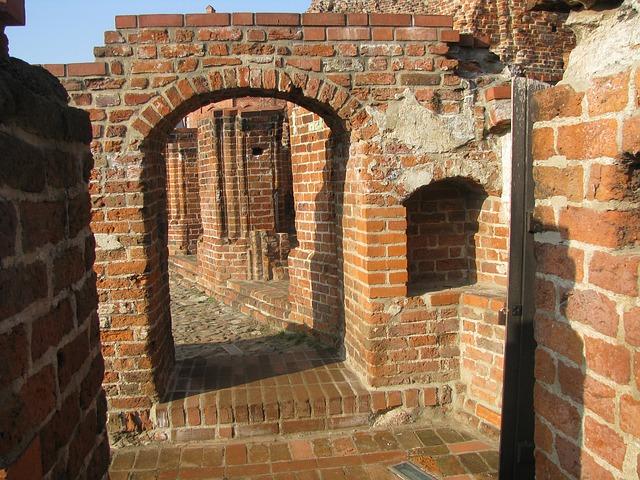 Ruiny Zamku Krzyżackiego, Pixabay