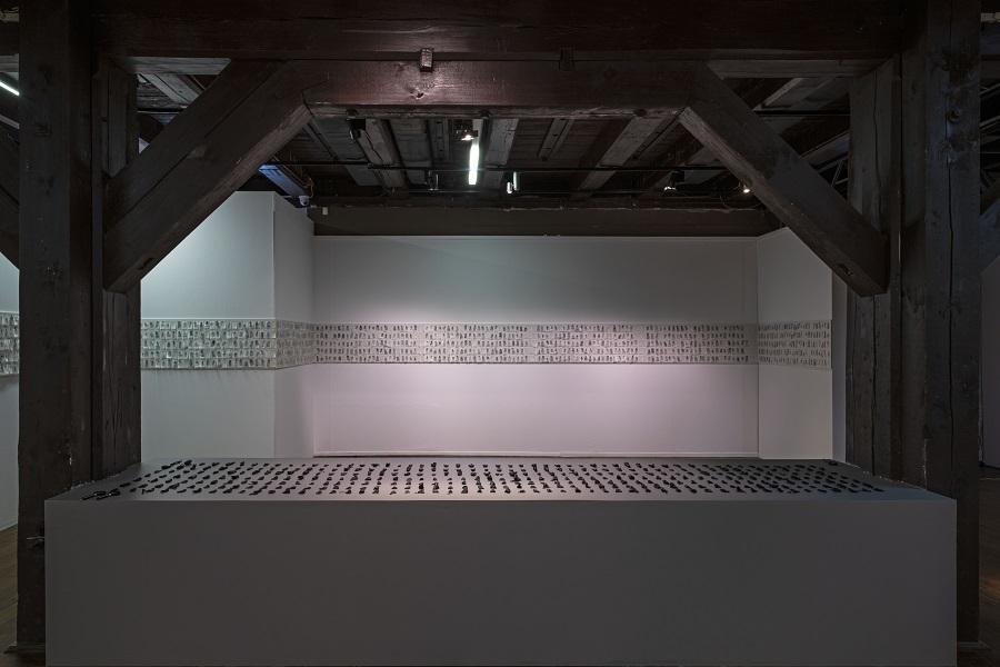 fragment ekspozycji, Priscilla Romero, fot.W.Woźniak