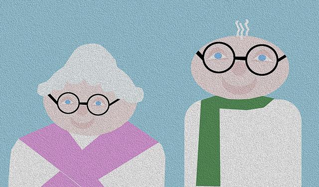 Babcia i dziadek, Pixabay