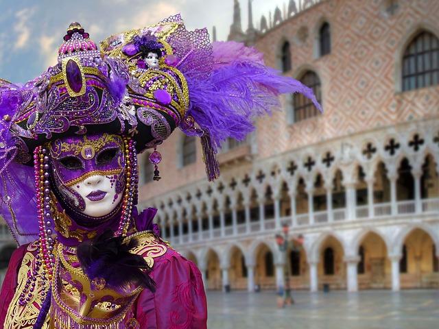 Karnawał w Wenecji, Pixabay