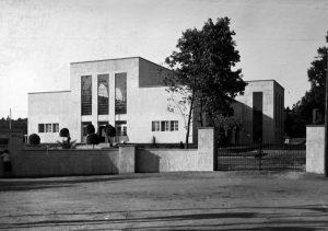 Hala Wystawowa w Toruniu. projekt K. Ulatowski, 1928