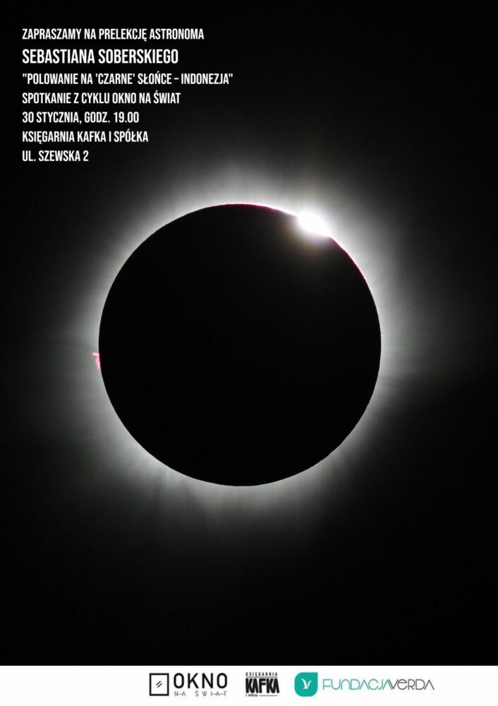 Polowanie na czarne słońce - wykład w Księgarni Kafka i Spółka