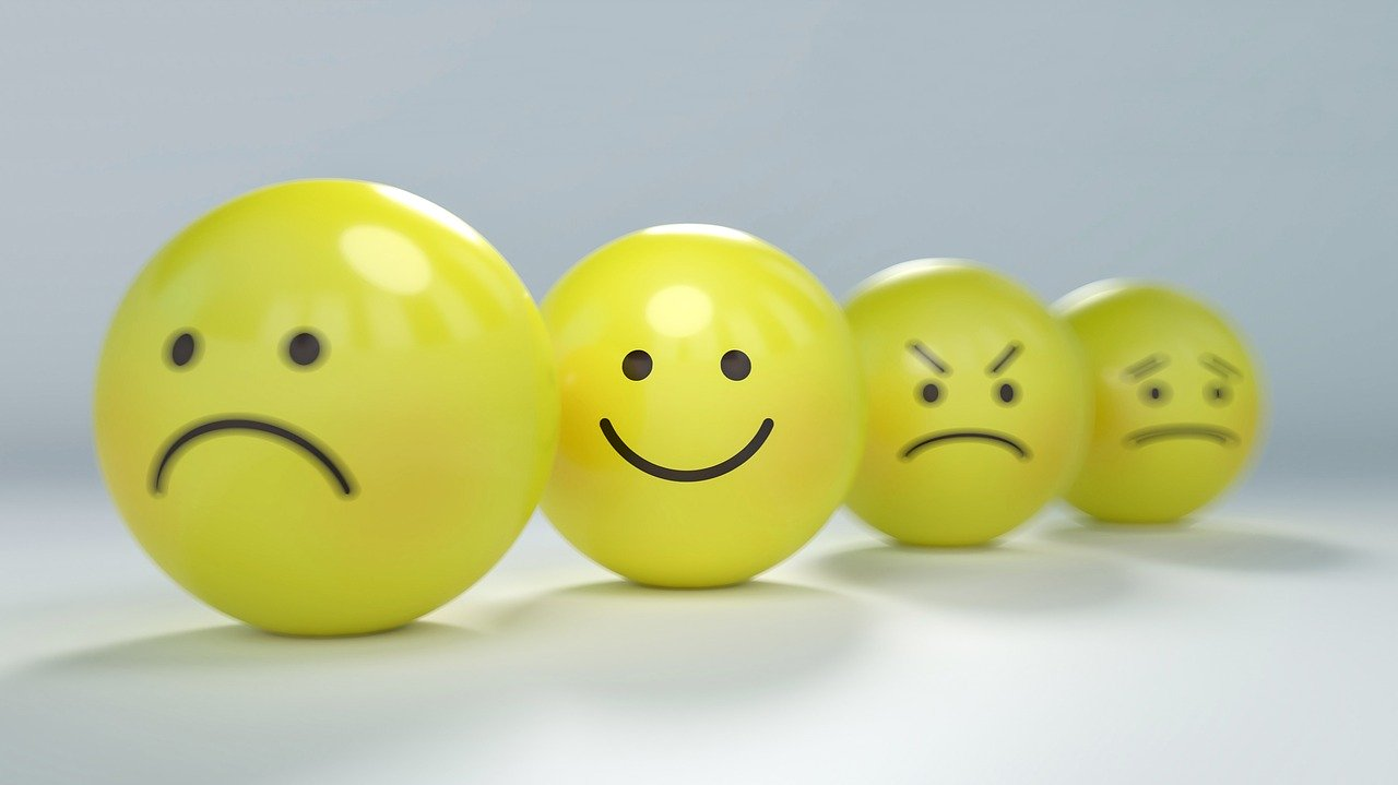 Emotikony, buźki, Pixabay