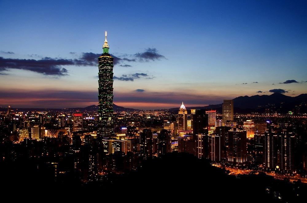 Wieżowiec Taipei 101 - jeden z najwyższych budynków na świecie, Tajpej, Tajwan (Pixabay)