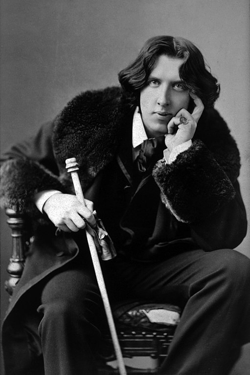 Portret Oscara Wilde'a. Wikimedia Commons