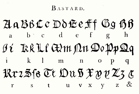Bastarda, Wikimedia Commons
