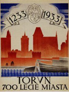 E. Karniej, 700-lecie Torunia, plakat, 1933