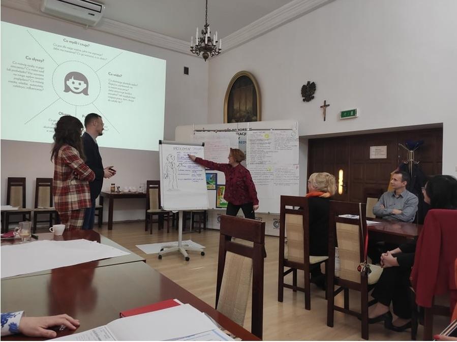 I. Rostankowska omawia personę marketingową