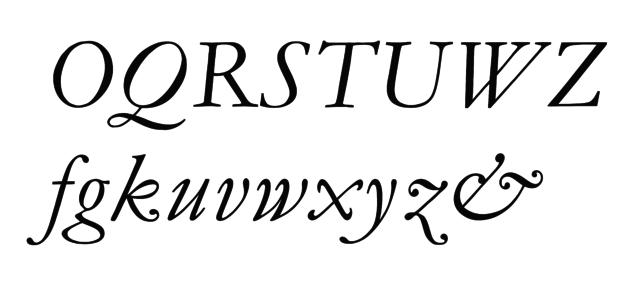 Italik italika krój pisma Wikimedia Commons