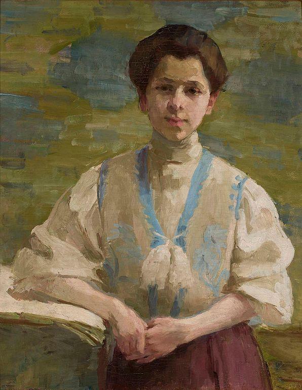 Olga Boznańska, Autoportret, 1893, Muzeum Narodowe w Warszawie