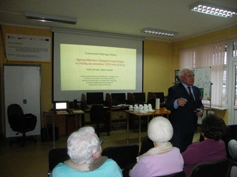 Wykład prof. dr. hab. Adama Sudoła