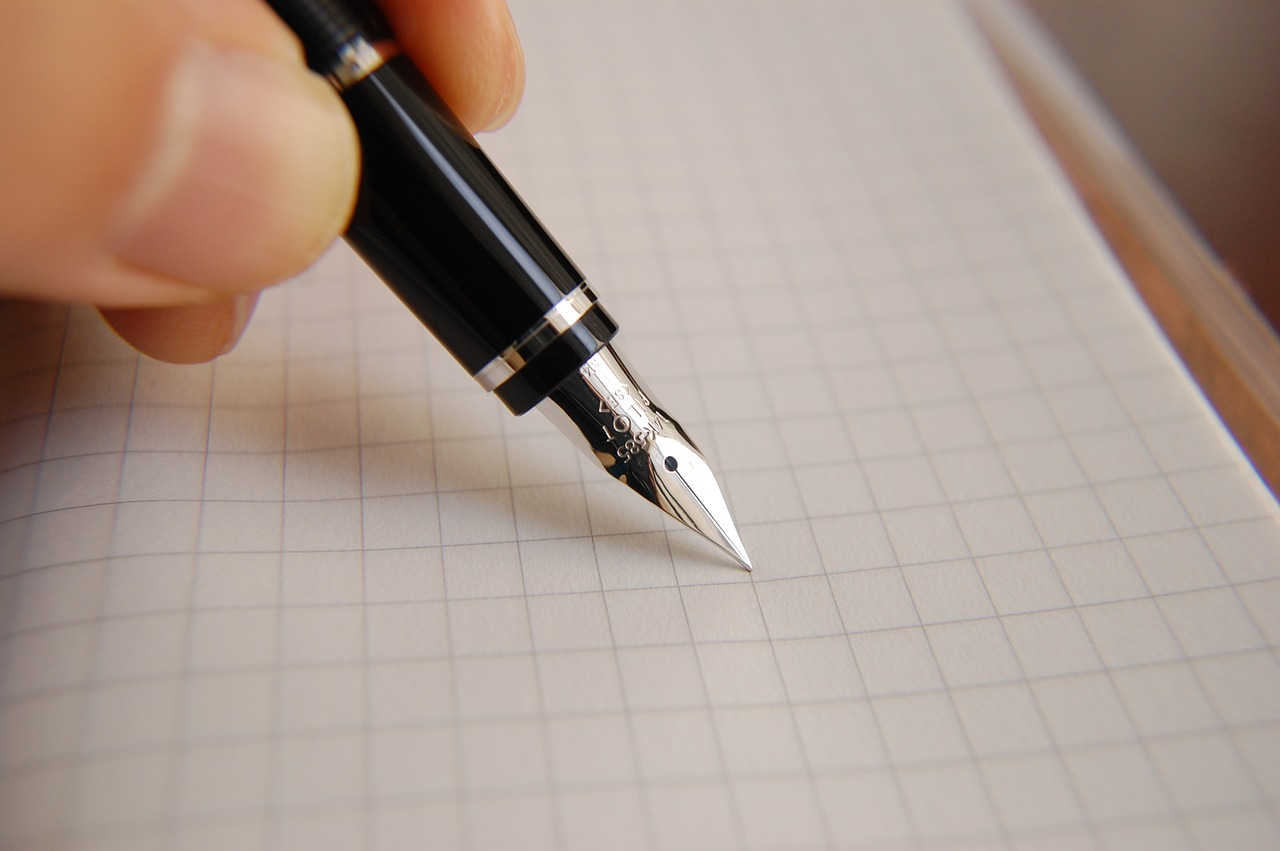 Pisać wiecznym piórem. Pixabay