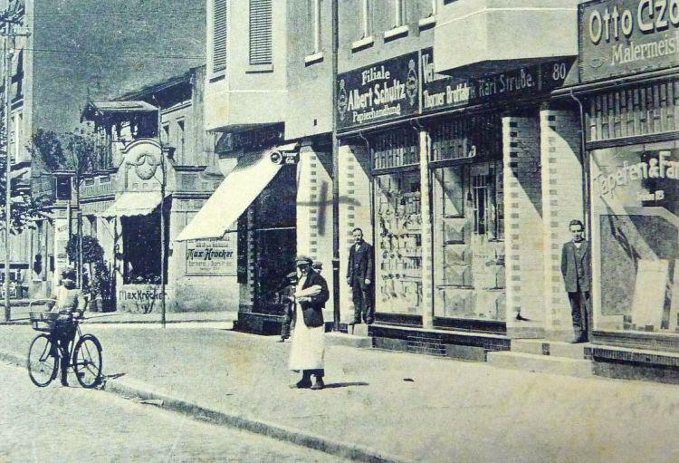 Fot. fragment pocztówki z kolekcji Tamary i Krzysztofa Klunderów