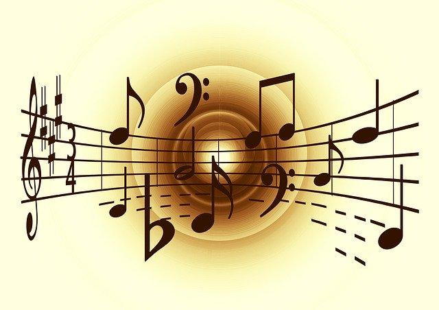 Muzyka, nuty, Pixabay