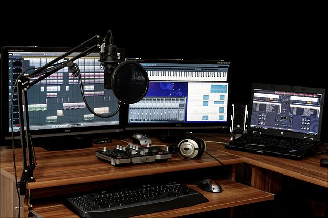 Studio nagrań, Pixabay