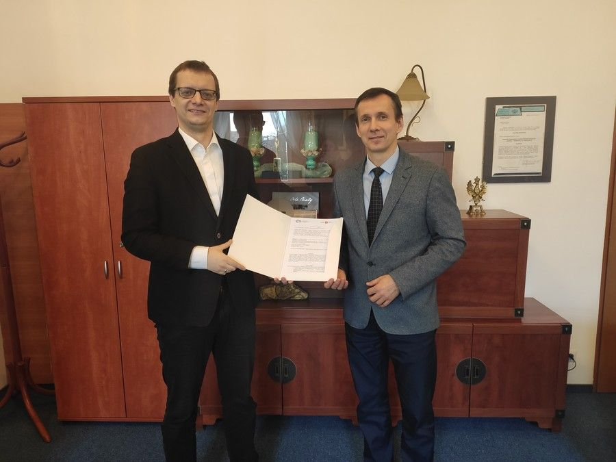 dr Socha (IBE) R.Preus (KPCEN-Bydgoszcz), fot. V. Smlińska-Panfil