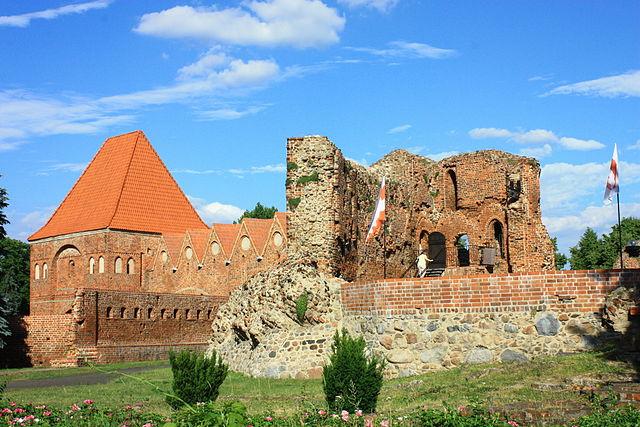 Toruń, zespół zamku krzyżackiego