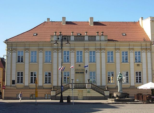 Budynek Wojewódzkiej i Miejskiej Biblioteki Publicznej w Bydgoszczy