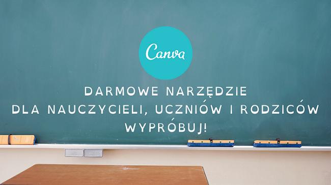 Canva - Darmowe narzędzie dla nauczycieli
