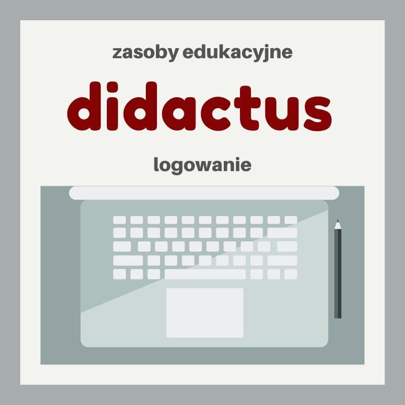 Didactus zasoby edukacyjne logowanie