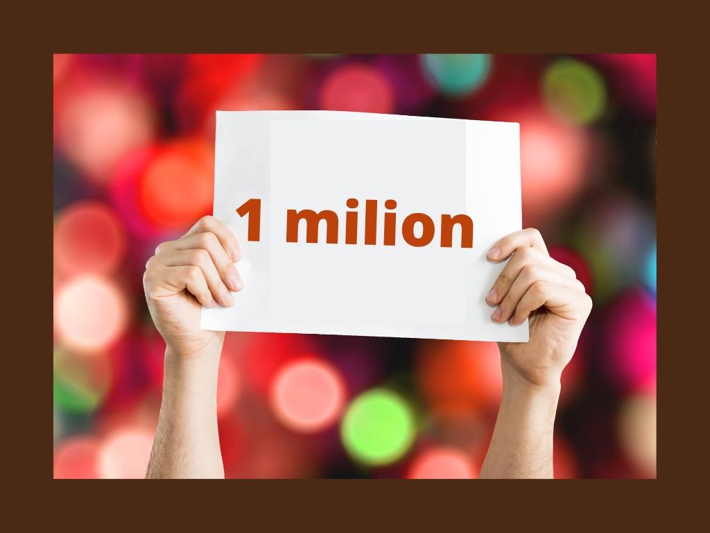 Milion odwiedzin
