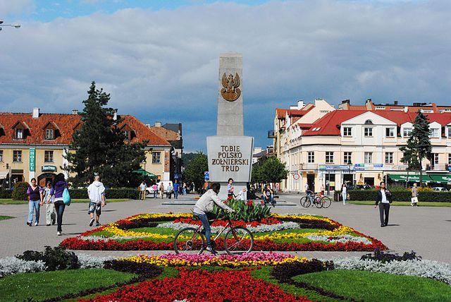 Plac Wolności we Włocławku. Źródło: Wikimedia Commons