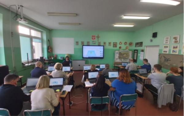 Szkolenie dla nauczycieli gminy Dąbrowa Chełmińska
